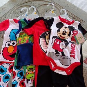 Infant boy 2 pcs sets